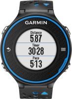 GARMIN Forerunner 620 Smartwatch(Blue, Black Strap, Regular)