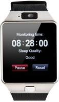 888 Dz09 Smartwatch(Black Strap Regular)