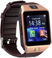 GOOSPREY GSPRYDZ09-26 phone Smartwatch(Brown Strap, Regular)