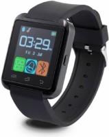 Aomax Bluetooth U8 Watch Smartwatch(Black Strap, Regular)