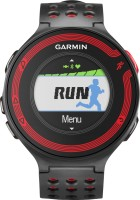 Garmin Forerunner 220 Smartwatch(Black, Red Strap Regular)