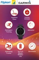 GARMIN Fenix 3 Sapphire Smartwatch(Black Strap, Large)
