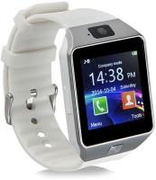 HealthMax DZ09-22 phone Smartwatch(White Strap, Regular)