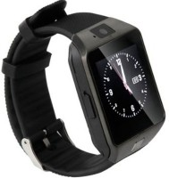 Hari Krishna Enterprise Sim Black Smartwatch(Black Strap Regular)