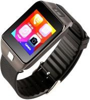 Attire Heart Rate Smartwatch(Black Strap, Large)