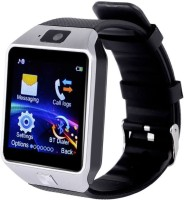 Wonder World ™ CooL GeaR DZ09 phone Smartwatch(Silver Strap, Regular)