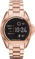 MICHAEL KORS Access Bradshaw (For Men & Women) Smartwatch(Gold Strap, Regular)