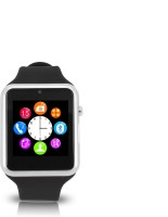 Zgpax Smart Watch Phone Smartwatch(Black Strap, Regular)