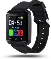 Medulla U8 Smartwatch(Black Strap, Regular)