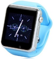 "Speed A1 1.54"" Touch screen for Android IOS Smartphones with Bluetooth 3.0 Blue Smartwatch(Blue Stra"