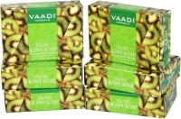 Vaadi Herbals Herbals Exotic Kiwi Soap with Green Apple Extract - Pack of 5(75 g, Pack of 6)
