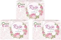 Onyx Care Glycerin Rose Soap (Set of 3)(300 g) - Price 140 35 % Off