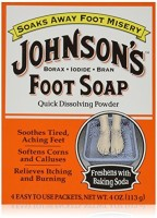Johnson's Baby Foot Soap 4-Count (3-Pack)(113 g)