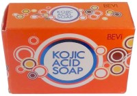 BEVI Kojic Acid Soap For Skin Brighiting And Hyper Pigmentation 3 Pc(135 g, Pack of 3)
