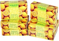 Vaadi Herbals Refreshing Lemon And Basil Soap (75 gms x 6)(75 g, Pack of 6)