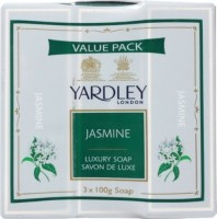 Yardley London Luxury Soap(300 g, Pack of 3)