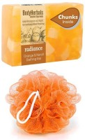 BodyHerbals Radiance Soap, Hand Made Orange & Neroli Bathing Bar with Natural Chunks(100 g) Flipkart