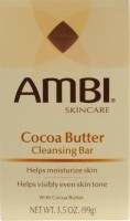 Ambi Cleansing Bar Soap Cocoa Butter (6 Pack)(99 g)