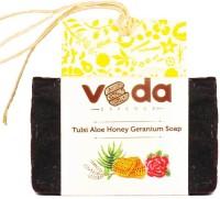 Veda Essence Tulsi Aloe Honey Geranium Soap(125 g) - Price 105 50 % Off