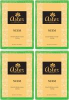 Aster Luxury Aster Luxury Neem Bathing Bar 125g - Set of 4(500 g, Pack of 4)