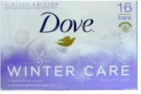 Dove Limited Edition Winter Care Beauty Bars with Moisturizing Cream 16 Bars(130 g, Pack of 16)