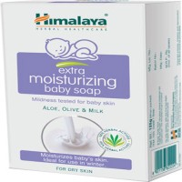 Himalaya Herbals Baby Extra Moisturizing Soap-125g(Pack Of -2)(2 x 62.5 g)