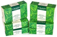 Vaadi Herbals Purifying Neem Patti Soaps with Pure Neem Leaves - Pack of 6(75 g, Pack of 6)