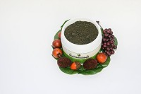 Emerging Natural Beauty African Black Soap - Natural Authentic 100% Raw and Unrefined. This Genuine Black Soap with No Dye Is in Powdered Form and Used for Getting Rid of Acne Removing Dead Skin Reduces Discoloration.(370 g)