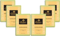 Aster Luxury Handmade Sandalwood Soap - Pack of 6(750 g, Pack of 6)