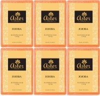 Aster Luxury Jojoba Bathing Bar - Pack of 6(750 g, Pack of 6)