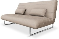 Camabeds Juliette Double Metal Sofa Bed(Finish Color - Grey Mechanism Type - Fold Out)