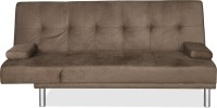 @home by Nilkamal MARC Double Solid Wood Sofa Bed(Finish Color - Brown Mechanism Type - Fold Out)