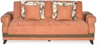 @home by Nilkamal Ibiza Double Foam Sofa Bed(Finish Color - Peach Blossom Mechanism Type - Fold Out)