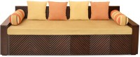 @home by Nilkamal Ohio Double Engineered Wood Sofa Bed(Finish Color - Brown Mechanism Type - Fold Out)