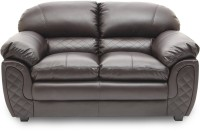 View HomeTown Mirage_br Leatherette 2 Seater Sofa(Finish Color - Brown) Price Online(HomeTown)