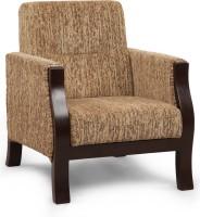 View ARRA Fabric 1 Seater Sofa(Finish Color - Walnut) Price Online(ARRA)