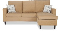 View Urban Living ECO LOUNGER Fabric 3 Seater Standard(Finish Color - Beige) Price Online(Urban Living)