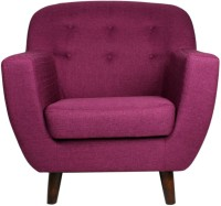 View peachtree Fabric 1 Seater Standard(Finish Color - Purple) Furniture (peachtree)