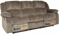 View HomeTown Fabric 3 Seater Sofa(Finish Color - Brown) Price Online(HomeTown)