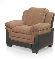 View Royal Oak Fabric 1 Seater Sofa(Finish Color - Brown) Price Online(Royal Oak)