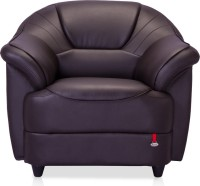 View Durian Berry Leatherette 1 Seater Standard(Finish Color - Coffee Brown) Price Online(Durian)