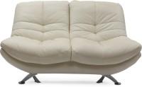 Evok Austin Leatherette 2 Seater Sofa(Finish Color - White)