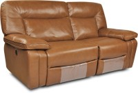 HomeTown Indulge Leatherette 3 Seater Sectional(Finish Color - Brown)