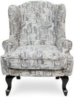 View Urban Living Bordeaux Fabric 1 Seater Standard(Finish Color - black) Price Online(Urban Living)