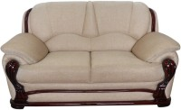 View Vintage Ivoria Fabric 2 Seater Sofa(Finish Color - MAHOGANY) Price Online(Vintage)