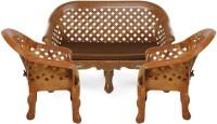 Nilkamal Luxura Fabric 2 + 1 + 1 Sofa Set