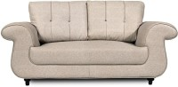 View Home City WINDSOR Leatherette 2 Seater Sofa(Finish Color - cream) Furniture (Home City)
