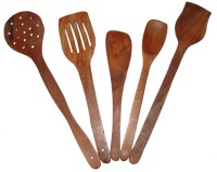 Shopesta Wooden Spatula(Pack of 5)