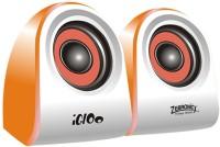 Zebronics 2.0 Multimedia Speakers Igloo Laptop/Desktop Speaker(Orange, 2.0 Channel)