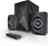 Creative High Performance 2.1 Home Entertainment System 50 W Home Audio Speaker(Black, 2.1 Channel)